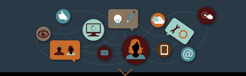 Illustrations des interactions dans la stratégie